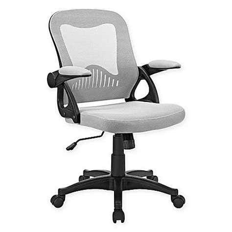 bed bath and beyond desk chair modway advance mesh office chair bed bath beyond