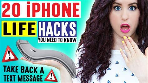 iphone message hack 20 iphone hacks take back a text message iphone