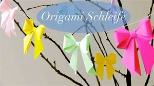 Origami Für Anfänger : diy origami schleife videoanleitung handmade kultur ~ A.2002-acura-tl-radio.info Haus und Dekorationen