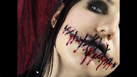 foto de Halloween : Sewn Lips YouTube