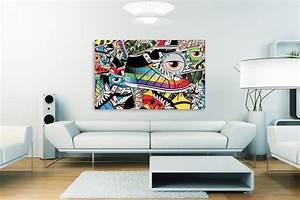 Deco Mural Salon : tableau contemporain pattern shoes ~ Teatrodelosmanantiales.com Idées de Décoration