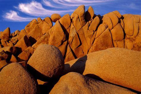 rocas en el parque nacional de arboles de josue