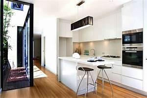 petite cuisine ouverte avec bar cuisine en image With meuble bar pour cuisine ouverte 1 decoration cuisine ilot
