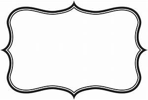Label Frame Clipart - ClipartXtras