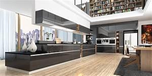 Style Contemporain : 5 astuces pour une cuisine contemporaine frenchy fancy ~ Farleysfitness.com Idées de Décoration