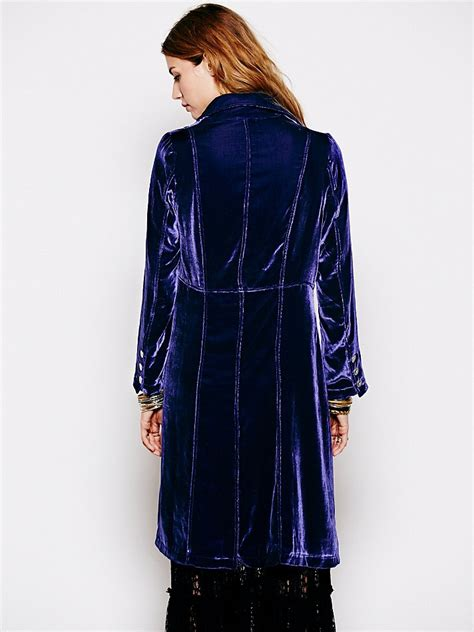 people velvet duster   purple lyst