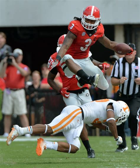 suspended georgia star todd gurley   matchup