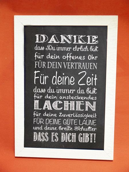 kunstdruck mit spruch quot danke quot foto design digital