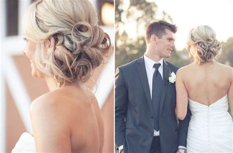 wedding updos we summer 2012 sideswept hairstyles with curls onewed