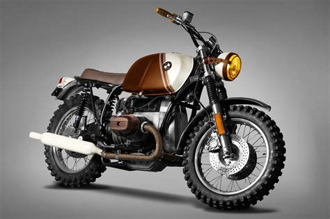 Motorcycle : Bmw R45 Custom By Ton-up Garage