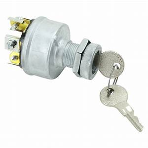 Universal Ignition Switch  4 Position W   Momentary Start  3  4 U0026quot