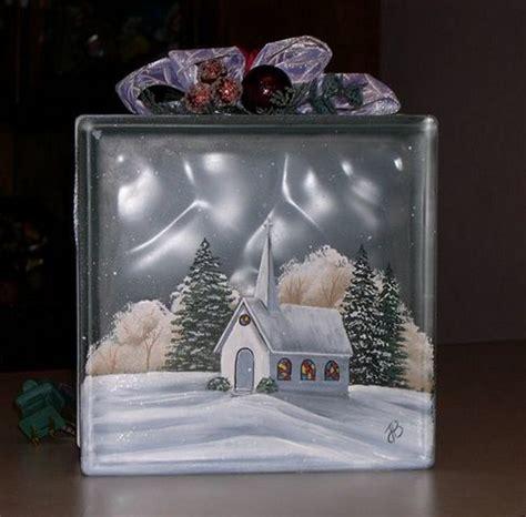 crafty glass block ideas   love craft projects