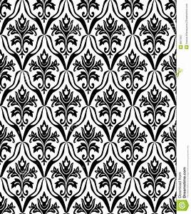 Black And White Seamless Pattern Stock Vector - Image: 8911657