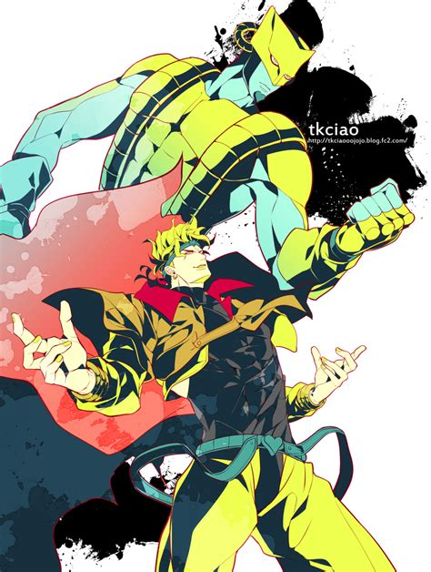 The World Stand The World Stand Stardust Crusaders Zerochan Anime