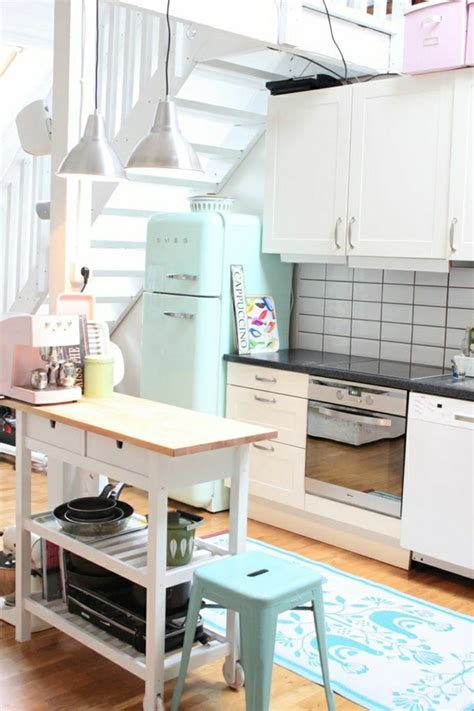 cuisine bleu pastel adopter la couleur pastel pour la maison