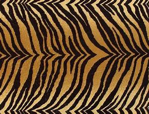 Bengal Tiger Faux Fur Upholstery Fabric - Contemporary