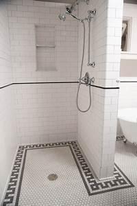 Subway Tile Shower - Traditional - Bathroom - minneapolis