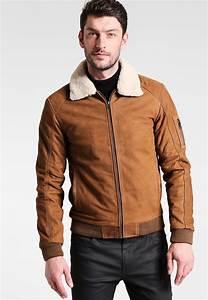 Veste Homme Col Mouton : veste 100 cuir avec col revers mod le styliste serge pariente mode conseils mode ~ Dallasstarsshop.com Idées de Décoration
