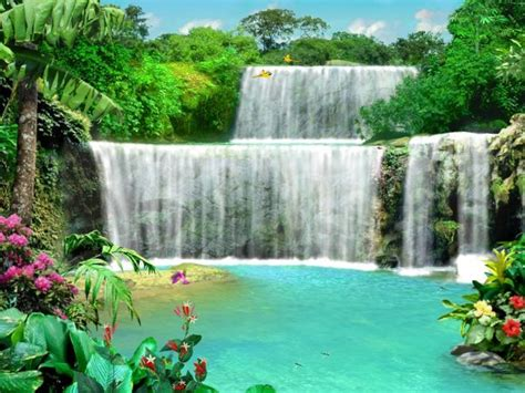 Living Waterfalls Animated Wallpaper - live waterfall wallpaper with sound wallpapersafari