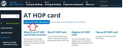 While a credit card balance seems straightforward, understanding what it is can help you make better choices with spending, budgeting and paying down debt. Auckland Transport New Zealand : Buy/ Register HOP Card Online - www.statusin.org