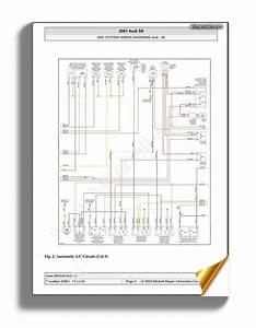 Audi S8 2001 System Wiring Diagrams