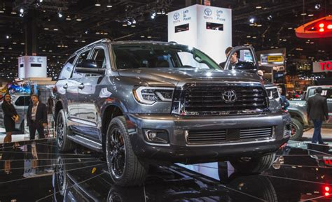 toyota sequoia rumors redesign limited release