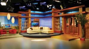Multimedios Set Design - Talk Shows - Broadcast Design ...