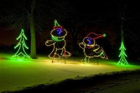 phalen light display lights in phalen park in st paul minnesota