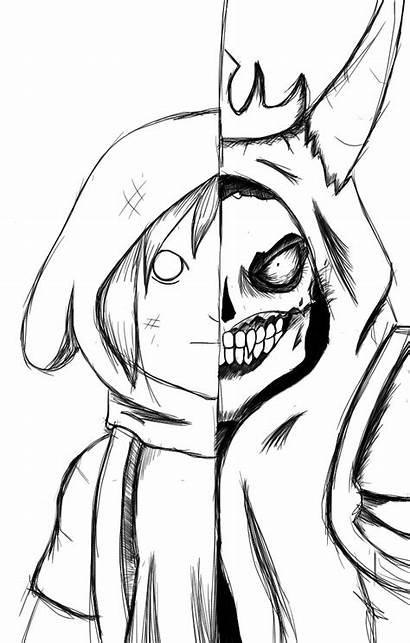 Desenho Desenhos Drawings Finn Scary Cartoon Desenhar