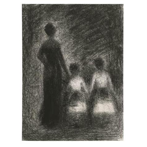 georges seurat   femme avec deux fillettes