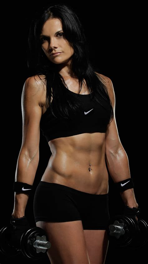 fitness girl gym wallpaper  iphone