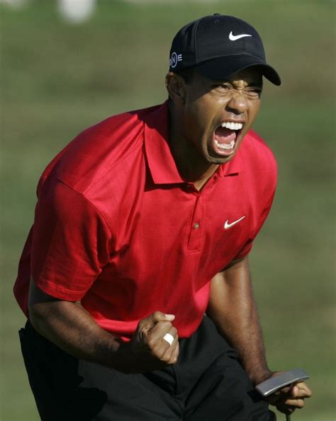 Determination to win   Tiger woods, Golf outfit, Golf