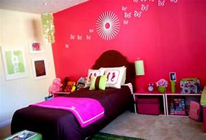 lovely decoration ideas for bedrooms girls with pink With girl room decor ideas pictures