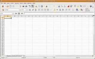 Spreadsheet Tool Open Office Calc Create Spreadsheets For Free With Open Office Calc