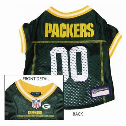 Packers Bay Dog Jersey Nfl Pets Gear