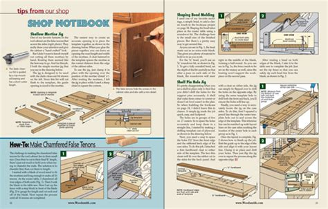 sample issue woodsmith magazine
