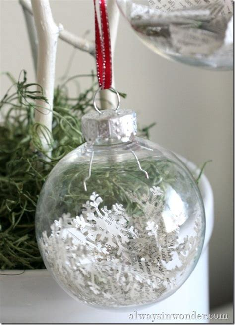 ideas  decorating clear glass ornaments