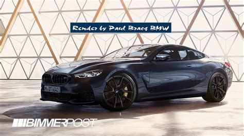 This Bmw M8 Render Is Probably Close To The Real Deal