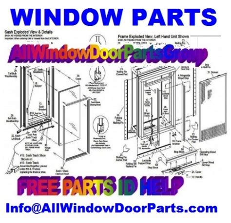 door window parts traco  rivers weathercraft wenco truth window hardware