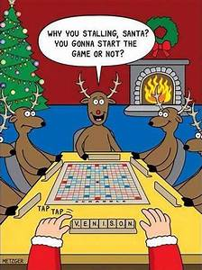 Mystery Fanfare Cartoon Of The Day Holiday Scrabble