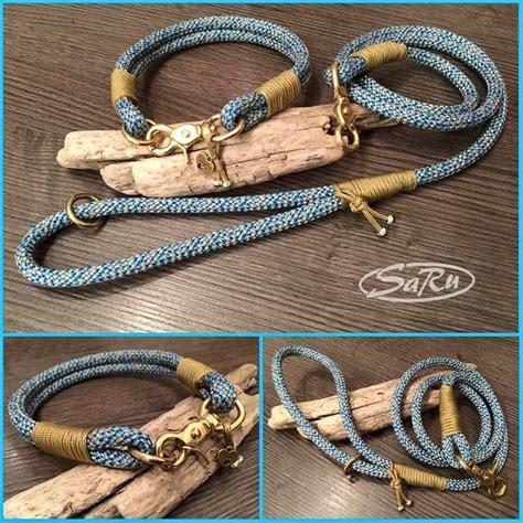 hundeleine und halsband dogleash dogcollar collar paracord halsband leine tau tauhalsband tauleine by