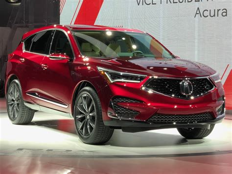 Acura Pics by 2019 Acura Rdx Prototype Debuts With A 2 0l Turbo The