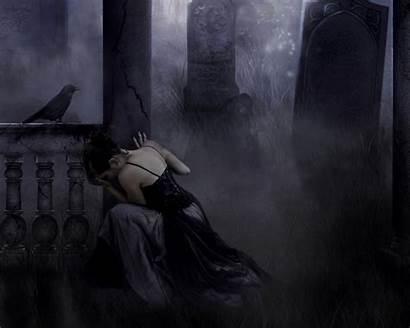 Gothic Dark Fantasy Backgrounds Desktop Wallpapers Raven