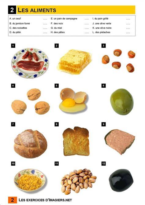 vocabulaire cuisine français langue étrangère a1 aliments fle vocabulaire