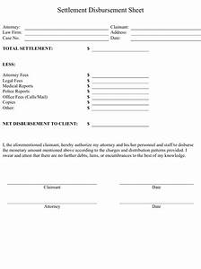 Attendance Sheet Online Settlement Disbursement Sheet Template Download Printable