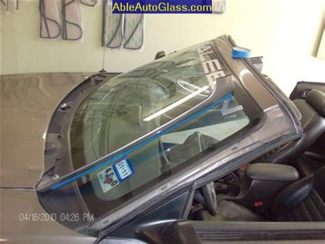 ford saleen mustang convertible windshield replace