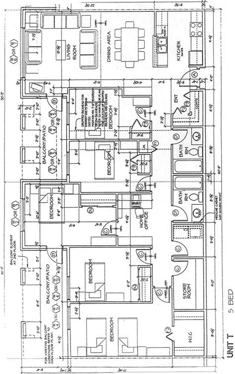 5 bedroom floor plan city gate housing co op floor plans