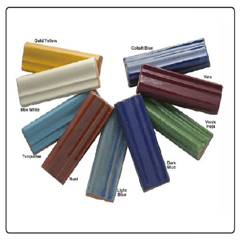 ceramic tile molding trim mexican tiles trims