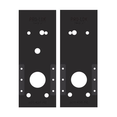 Schlage Mortise Lock Template by Schlage Co Series Mortise Pro Templates Pro Lok