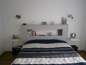 Tete De Lit 1 Personne : fabriquer une t te de lit le guide du parfait bricoleur ~ Teatrodelosmanantiales.com Idées de Décoration